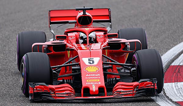 Sebastian Vettel holte sich in China erneut die Pole Position.