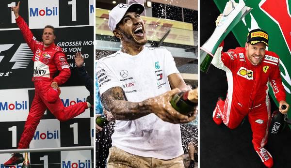 Diashow: Formel 1: Das sind die bestbezahlten Fahrer aller Zeiten