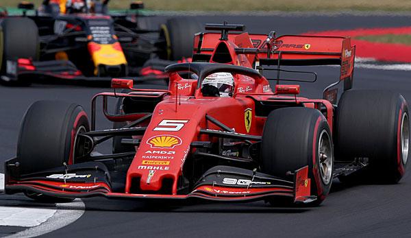 Sebastian Vettel belegte beim Großbritannien-GP lediglich Rang 15.