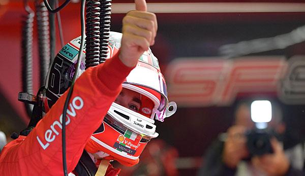 Formel 1: Charles Leclerc beim Heimspiel-Auftakt vor Sebastian Vettel und Mercedes