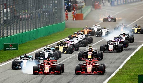 Formel 1 - Italien-GP: 1. 2. Freies Training heute live im TV, Livestream und Liveticker