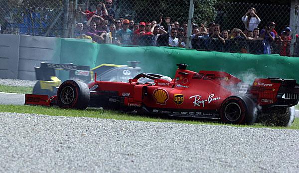 Formel 1: Sebastian Vettel erklärt Dreher beim Italien-GP - Nico Rosberg wundert sich
