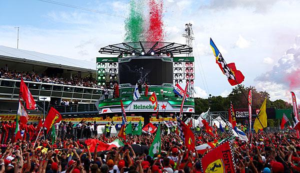 Formel 1 - Italien-GP: Charles Leclerc siegt beim Ferrari-Heimspiel - Dreher-Drama um Sebastian Vettel