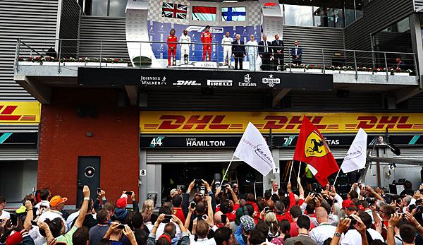 Formel 1 - Belgien-GP: Charles Leclerc mit Debütsieg vor Lewis Hamilton - Sebastian Vettel verpasst Podest