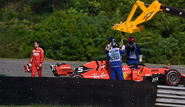 Formel 1 - Brasilien-GP: Vettel und Leclerc crashen - Verstappen siegt
