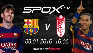 Fc Barcelona Granada Med Barca Star Brennen Sicherungen Durch Suarez Ihr Seid Abfall Sport Fussball International