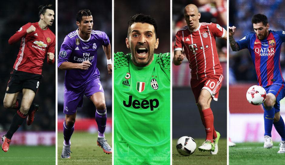Die besten fifa 11 spieler der welt best fifa 09 players