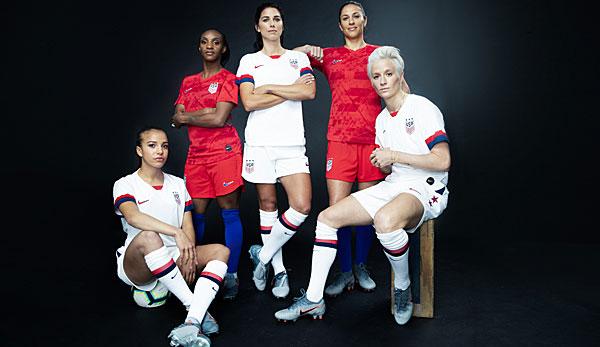 sale retailer 927f9 4db12 Nike präsentiert in Paris tolle Trikots für die Frauen-WM