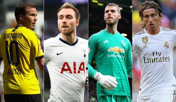 Diashow: Ablösefreie Superstars: Die Verträge dieser Spieler laufen im Sommer 2020 aus