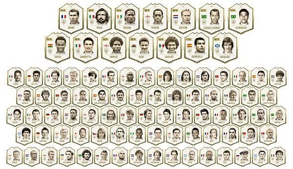 Diashow: FIFA 20 Ultimate Team: Das sind die neuen Icons