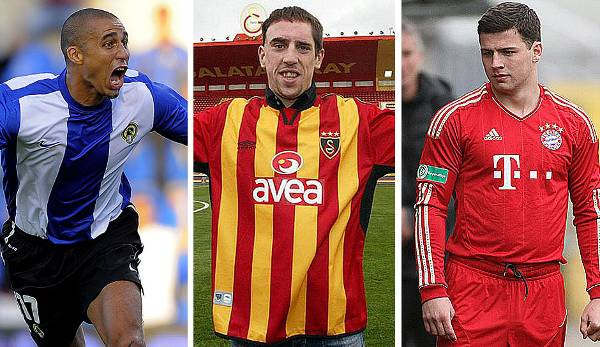 Diashow: Guardiola, Ribery und Co.: 15 kuriose Transfers, an die sich (fast) niemand erinnert