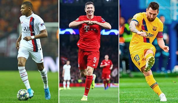 Diashow: Ballon d'Or 2019: France Football gibt die 30 Nominierten bekannt