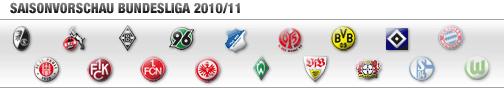 Saisonvorschau Bundesliga 2010/2011