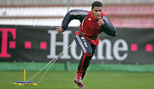 Breno, Bayern, Training