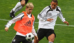 Marko Marin (l.) und Jermaine Jones