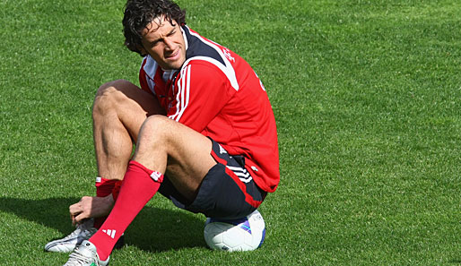 Bundesliga, Fussball, Bayern, Training, Luca Toni