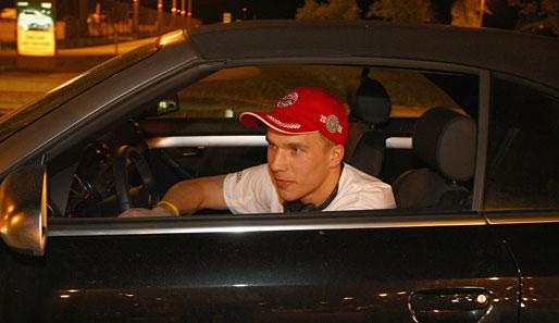 Geburtstag Lukas Podolski
