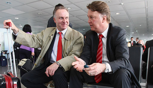 Karl-Heinz Rummenigge hat absolutes Vertrauen in Louis van Gaal