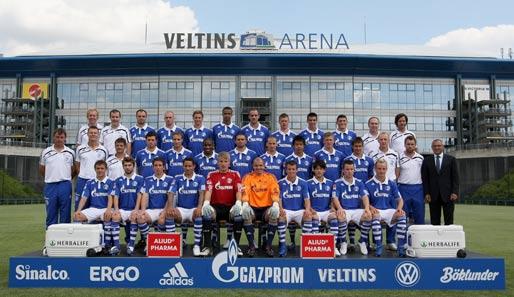 Schalke 04 Mannschaftsfoto 2010/11