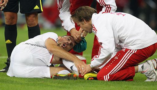 Franck Ribery Verletzung