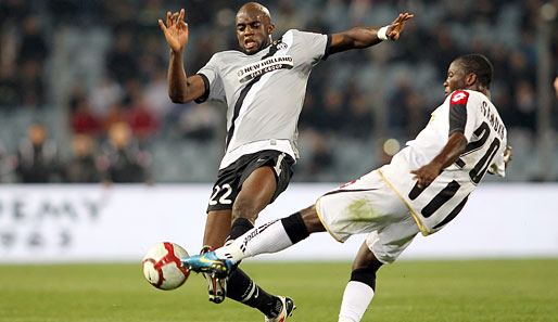 Mohamed Sissoko (l.) kam 2008 vom FC Liverpool zu Juventus Turin