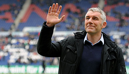 Will mit Hannover 96 in die Champions League: Mirko Slomka