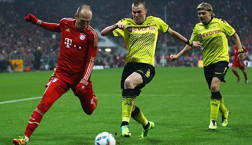 Fußballspiel Bayern Gegen Dortmund