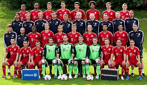 Mit dieser Mannschaft will der FC Bayern Meister werden