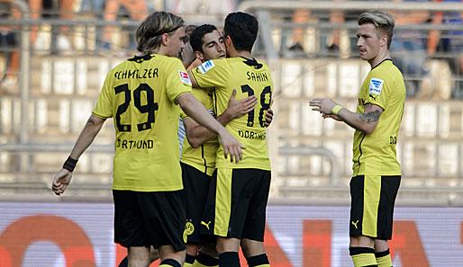 Borussia M gladbach vs Borussia Dortmund