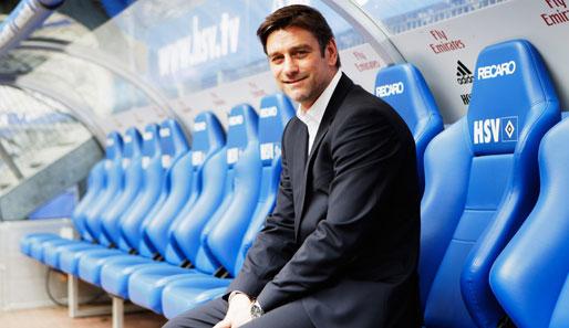 Oliver Kreuzer möchte den Hamburger SV endlich wieder auf Erfolgskurs führen