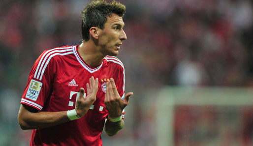 Mario Mandzukic steht noch bis 2016 beim FC Bayern unter Vertrag