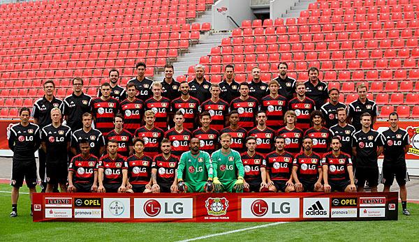 Mannschaft Bayer Leverkusen