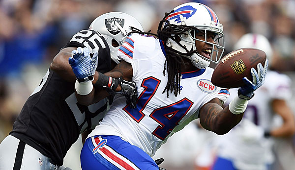 Sammy Watkins verzeichnete in der Vorsaison 1.047 Receiving-Yards