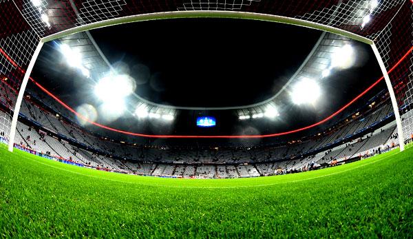 Rasen in der Allianz Arena von Pilz befallen