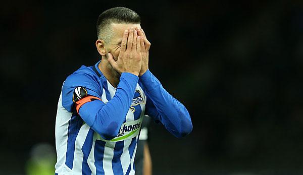 Hertha-Kapitän Ibisevic für zwei Spiele gesperrt