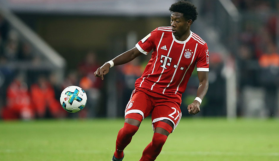 Linksverteidiger: David Alaba
