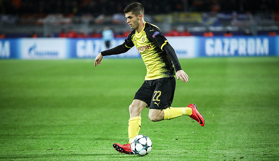 Linksaußen: Christian Pulisic