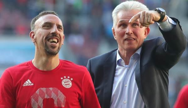 Franck Ribery Verl 228 Ngert Wohl Seinen Vertrag Beim Fc Bayern