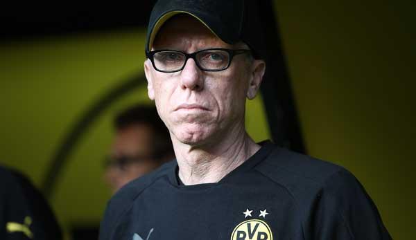 Peter Stöger trained BVB.
