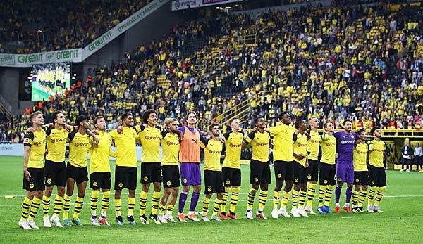 Spielplan Von Borussia Dortmund