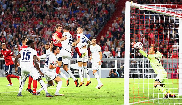 Bayern Munich vs TSG 1899 Hoffenheim lives in live scores today