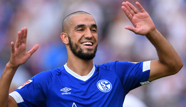 nabil bentaleb vom fc schalke 04 im interview die entt uschung zu verbergen f llt mir immer. Black Bedroom Furniture Sets. Home Design Ideas