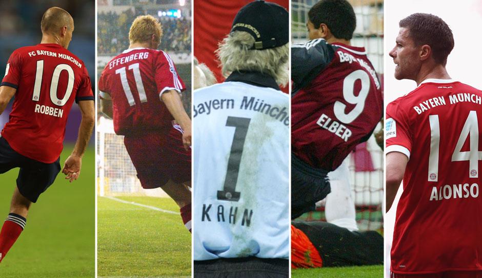 Bayern München Rückennummern
