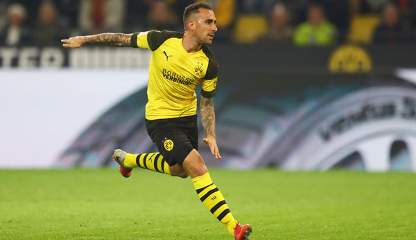 Paco Alcacer fehlt Borussia Dortmund in Brügge