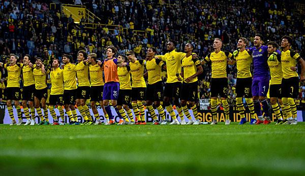 Drei Neuzugänge treffen: Borussia Dortmund schlägt Eintracht Frankfurt