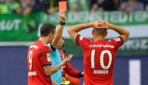 Kovac verteidigt Robben nach Platzverweis
