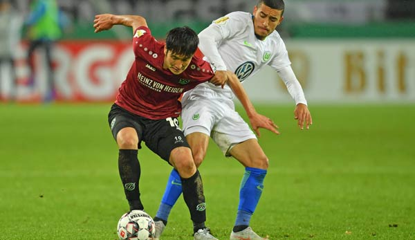 Hannover 96 against VfL Wolfsburg in the Bundesliga today in the BEACH TICKER track