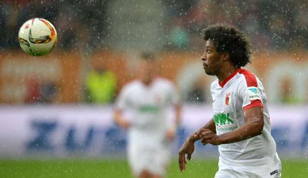 FC Augsburg: Mittelfeldspieler Caiuby fehlt schon fast zwei Wochen