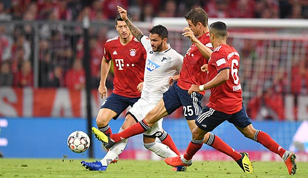 TSG 1899 Hoffenheim gegen FC Bayern: Bundesliga heute live im TV, Livestream und Liveticker