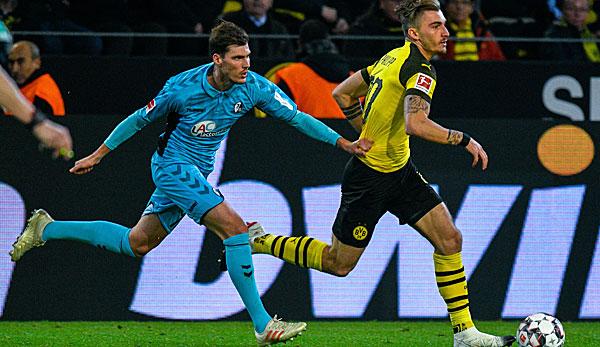 Pascal Stenzel vom SC Freiburg im Interview: Beim BVB ergab es keinen Sinn mehr